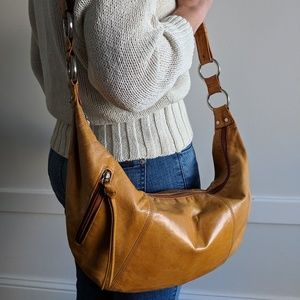HOBO leather crossbody